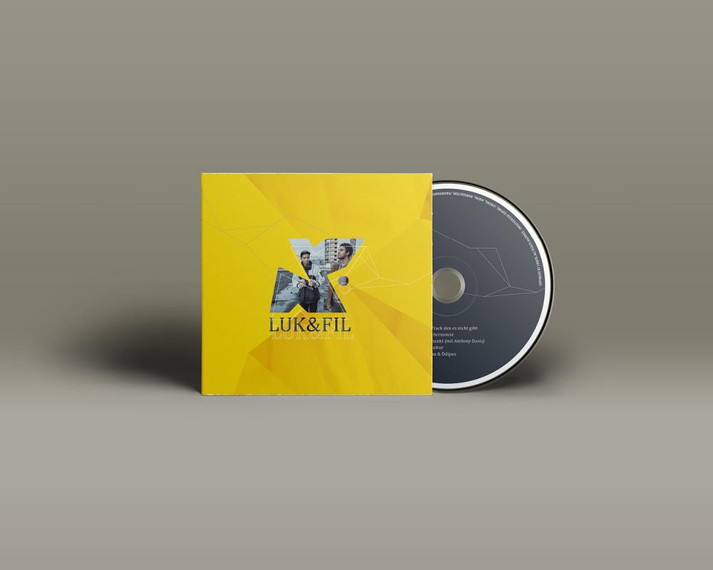 Corporate Design Portfolio - Schreiber Tobias - Luk & Fil CD-Cover Design