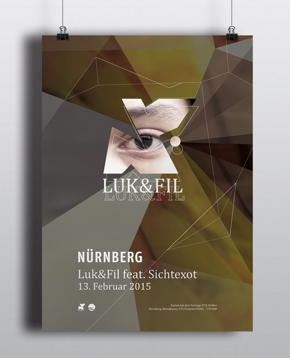 Corporate Design Portfolio - Schreiber Tobias - Luk & Fil Plakatgestaltung Corporate Design Key-Visual