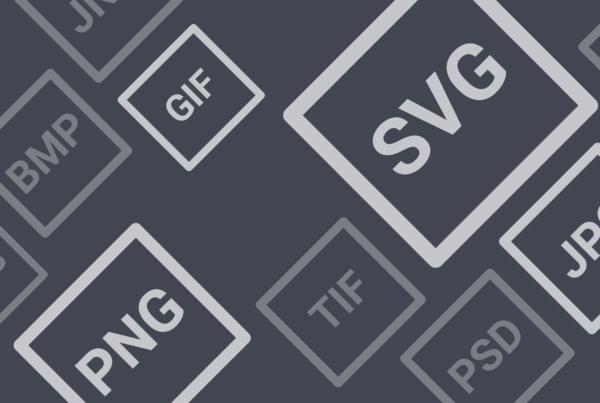 Headeribld - Illustration für Bildformate und ihre Anwendungsfälle. Vergleich von PNG und JPEG Bildformat bei einer Vektorgrafik.