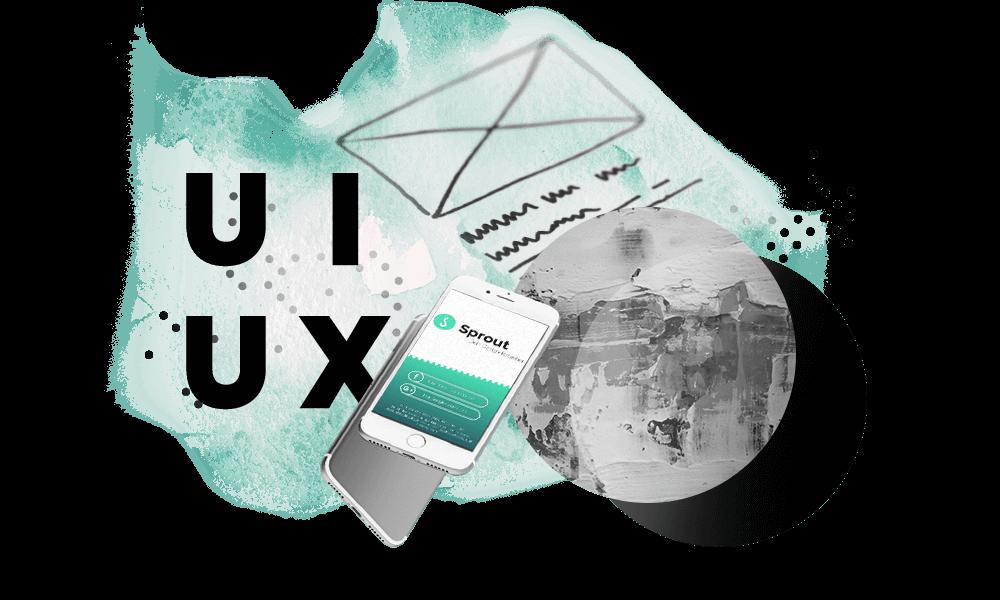 Illustrative Bildmontage / Compositing für den Leistungspunkt User Interface / User Experience Design